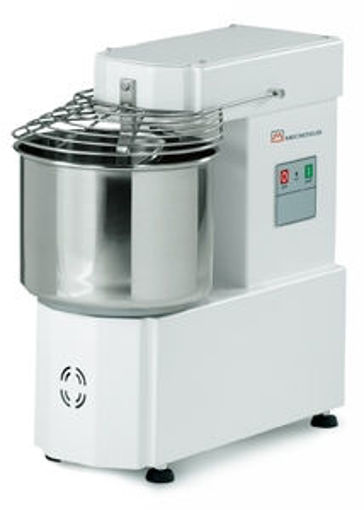Picture of Spiral Mixer, model IM, with fixed bowl  - 10LT, +/- 8Kg  dough