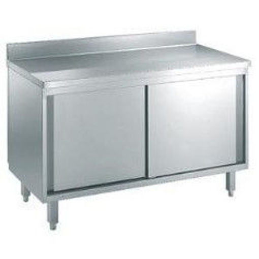 Picture of Stainless stell cupboard