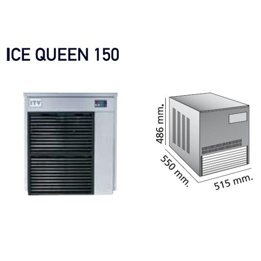 Imagem de Máquina de gelo granulado - gama modular IQ  - sem depósito