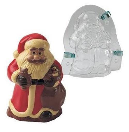 Picture of Plastic mould 3D Santa Claus MAC180