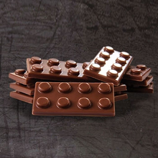 Picture of Polycarbonate mould - Play With Chocolat - Lego ref. MA6005