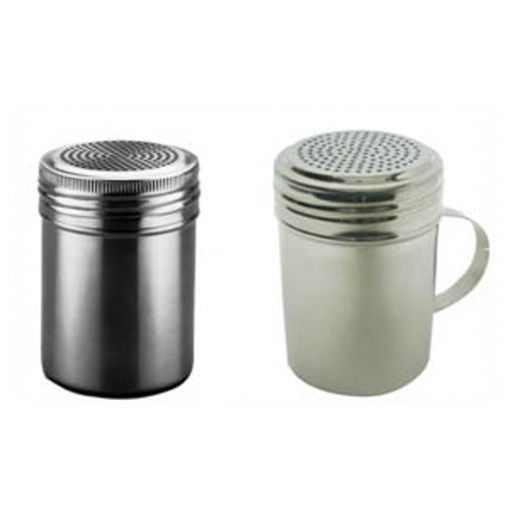 Picture of Stainless steel sugar or cinnamon sprinkler With or Without wing