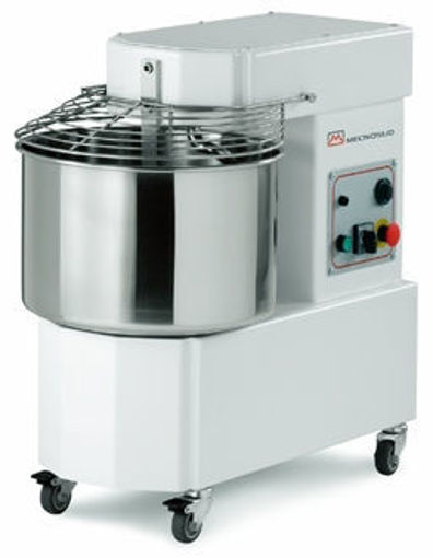 Picture of Spiral Mixer, model IM, with fixed bowl  - 15LT, +/- 12Kg dough