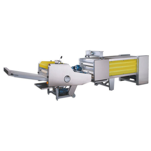 Picture of Leaven Conveyor Belts and Wrinkle  and Shape Machine